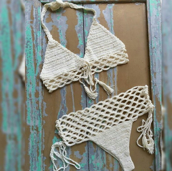 biquini croche handmade Swimwear Styles